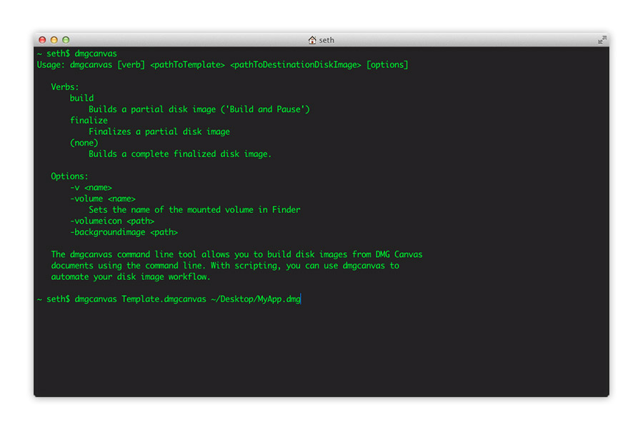 Automated build from the command line